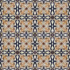 portuguese spanich moroccan style vintage ceramic tile pattern