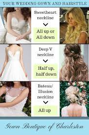 pictures of hairstyle neck line what hairstyle matches your wedding dress