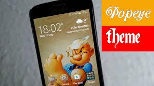 Samsung Galaxy S7 S7 Edge Free Popeye Theme Get It Now Now Youtube