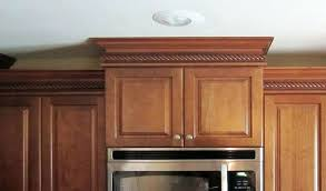 how to install crown molding on cabinets how to install crown molding on cabinet crown molding above kitchen