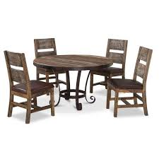 5 Piece Dining Room Sets by Antique 5 Piece Dining Set Round 967rd 5pc Afw