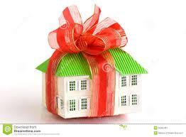house gift stock photo image 50061491