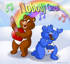 Care Bear Meme - not even care bears are interested in what you have to say