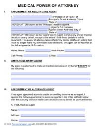 free power of attorney templates in fillable pdf format power of