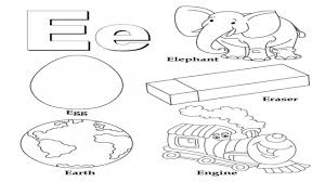 e coloring pages preschool coloring pages ideas