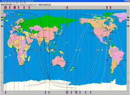 True World Map by The Astrology Of Place