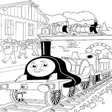 thomas train coloring book coloring
