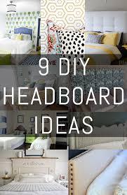 diy headboard 9 diy headboard ideas erin spain