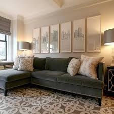 gray velvet sofa design ideas regarding grey velvet sectional sofa