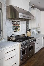 Kitchen Amazing Viking Range Hood Traditional With Backsplash Blue - Broan backsplash