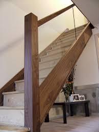 Staircase Renovation Ideas Glass Oak N E Stairs Ltd