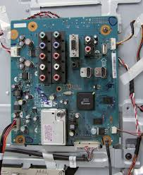 lcd tv repair tv has audio no video common main board