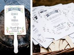 how to create wedding programs step by step how to create a diy fan wedding program