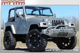 jeep rubicon 2000 2000 jeep wrangler custom sport lifted 44 fort worth