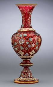 Antique Cranberry Glass Vase 484 Best Moser Glassware Beautiful That U0027s All Images On Pinterest