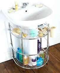 bathroom sink organizer ideas corner sink storage klyaksa info