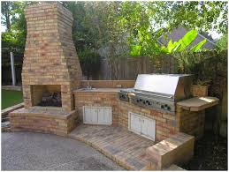 backyards appealing backyard brick grill build your own backyard