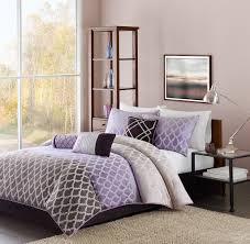 Purple Full Size Comforter Sets Chic Madison Park Harlow Piece Comforter Set Purple Comforter Sets