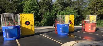 dunking booth rentals dunk tank rentals md dc va dunking tank rentals dunking booth