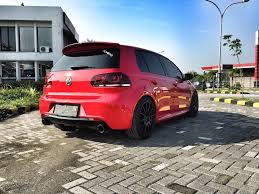 volkswagen golf custom vw golf 1 4 tsi red 2013 fullspec u2013 bisaboy com