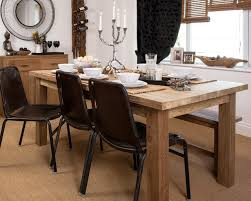 natural teak dining tables henry solid wood