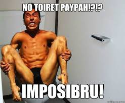Angry Asian Meme - no toiret paypah imposibru angry asian quickmeme