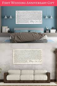 Personalized Home Decor Gifts Best 25 1st Wedding Anniversary Gift Ideas On Pinterest Diy 1st