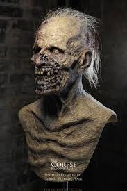 the ugly man silicone mask realistic mask zombie mask burned man