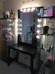 Diy Makeup Vanity Mirror With Lights Stunning Vanity Mirror With Lights For Bedroom Wallpaper Gigi