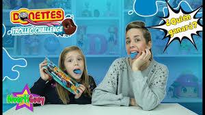 Challenge Reto Donettes Trolleo Challenge Reto Pintalenguas Azul