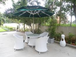 Patio Set With Umbrella by Patio Ideas Heavy Duty Patio Umbrella With White Patio Umbrella