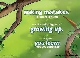 quote about mistakes for children talking with trees books