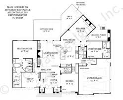 Lakefront Home Floor Plans Chesterfield Lakefront House Plans Luxury House Plans