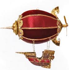 air balloon ship ornament steunk decoration