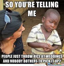 Spiderman Rice Meme - 25 funniest wedding meme pictures and images