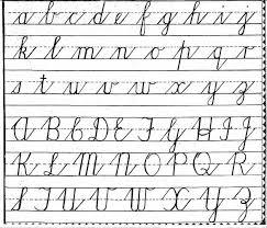 free printable cursive handwriting worksheets for kids free