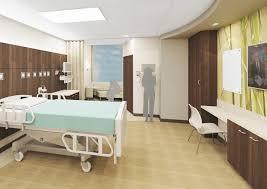 healthcare bed floor mur studio