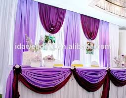 wedding backdrop material asian wedding romatic atmosphere luxury prom stage cloth