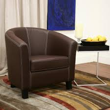 penelope black u0026 ecru faux leather accent chair tn 891354 the