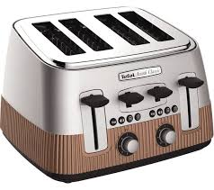 Silver Toaster And Kettle Set Buy Tefal Avanti Classic 4 Slice Toaster Copper Avanti Classic