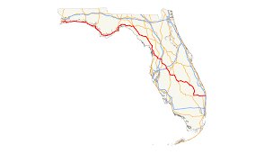 Fl State Map by File Us 98 Fl Map Svg Wikimedia Commons
