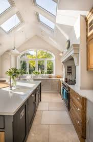 Cathedral Ceiling Lighting Ideas Suggestions by Awesome Lighting Idea For Kitchen In House Decor Concept With