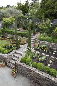 image result for side sloped backyard landscaping garden