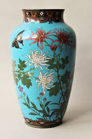 Large Chinese Vases Antique Large Chinese Cloisonne Vase Loveantiques Com