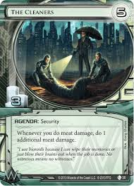 cleaners for android the cleaners android netrunner comprehensive unofficial