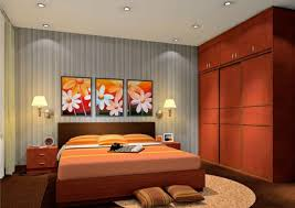 3d rendering of wall lamps bedroom 3d house