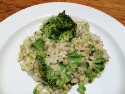 cuisiner le brocoli risotto au brocoli envie de cuisiner