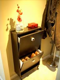 Hallway Shoe Cabinet by Narrow Shoe Cabinet For Small Landing Strip Ikea Hackers Ikea