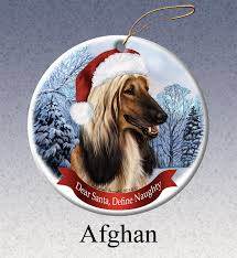 afghan hound owner reviews afghan hound howliday dog christmas ornament doggy style gifts