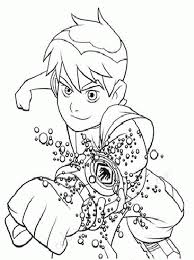 free ben 10 coloring pages imagesfree coloring pages kids